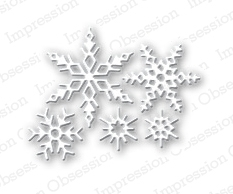 Stanzschablone Small Snowflake Set