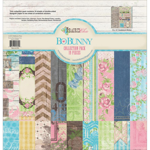 Prairie Chic Collection Pack 12x12