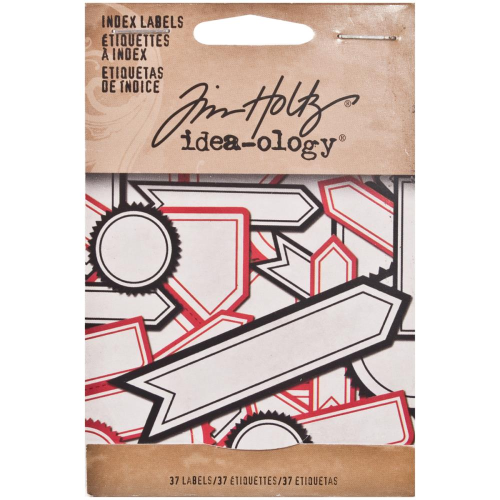 Tim Holtz - Self-Adhesive Index Labels