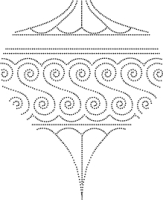 Drop Ornament Outline