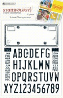 License Plate - Clear Set