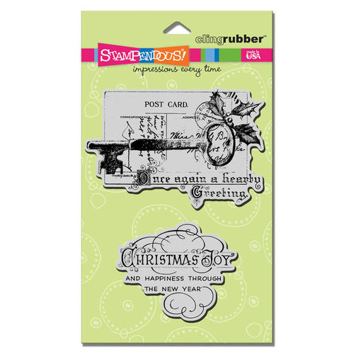 Cling - Christmas Key Set