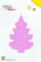 Nellie's Choice Stanzschablone - Multiframe Christmas Tree 2
