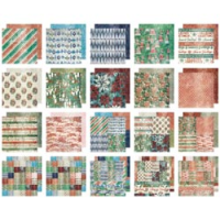 "Tim Holtz - Holidays Past Paper Stash Paper Pad 12""X12"""