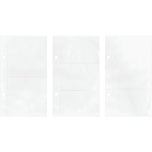 "Tim Holtz 2-Hole Page Pockets 4""X7"""