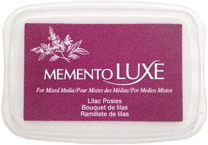 Memento Luxe Stempelkissen - Lilac Posies