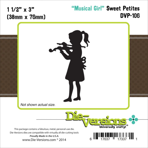 Stanzschablone Musical Girl