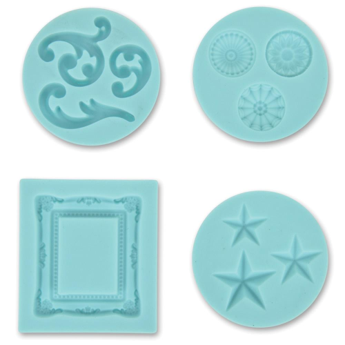 Martha Stewart Silikonform Decorative Design