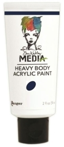 Dina Wakley Media Heavy Body Acrylic Paint - Night