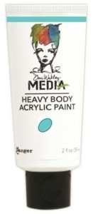 Dina Wakley Media Heavy Body Acrylic Paint - Turquoise