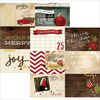 "Papier Cozy Christmas Journaling Cards Horizontal 4"" x 6"""
