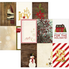 "Papier Cozy Christmas Journaling Cards Vertical 4"" x 6"""