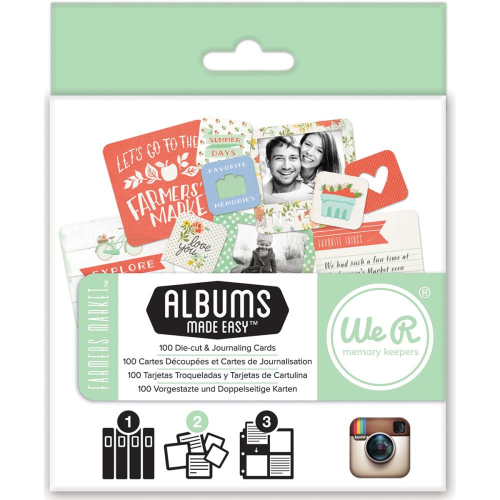 Instagram Albums Made Easy Journaling Cards - Farmer's Market