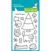 Clear Stamp - Critters in the Forest
