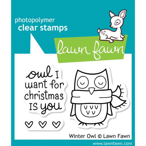 Clear Stamp - Winter Owl