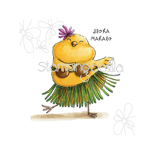 Cling - Hula Chick