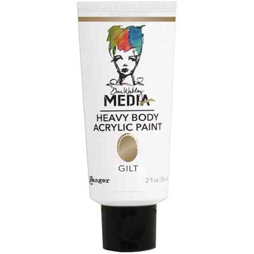 Dina Wakley Media Heavy Body Acrylic Paint - Gilt