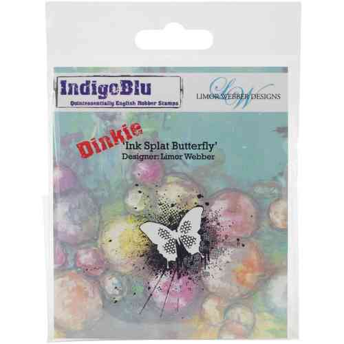 Cling - Ink Splat Butterfly Dinkie