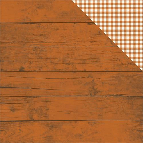 Papier Pumpkin Spice - Pumpkin Spice/Gingham Simple Basic