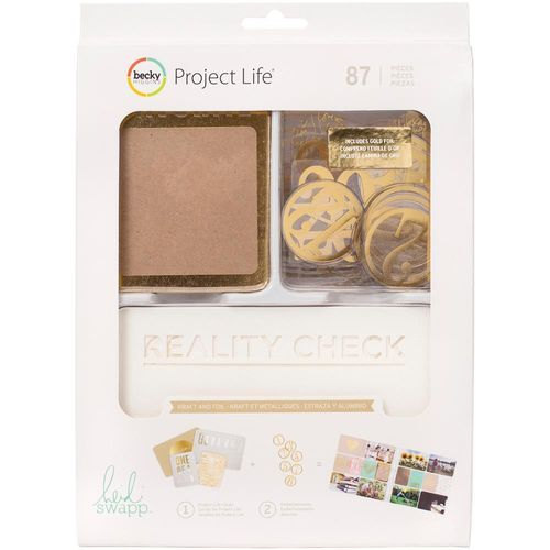 Project Life Value Kit - Heidi Swapp Kraft with Foil