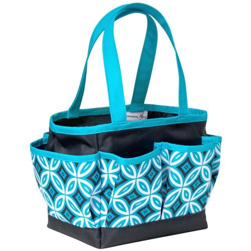 Everything Mary Mini Crafter's Tote Teal/Black
