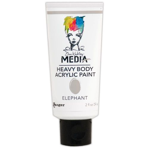 Dina Wakley Media Heavy Body Acrylic Paint - Elephant