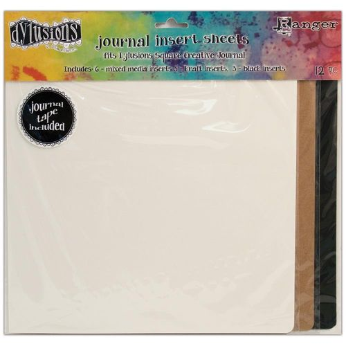 Dyan Reaveley's Dylusions Journal Inserts Assortment square