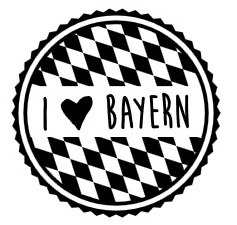 Woodies - I Love Bayern (Rauten)