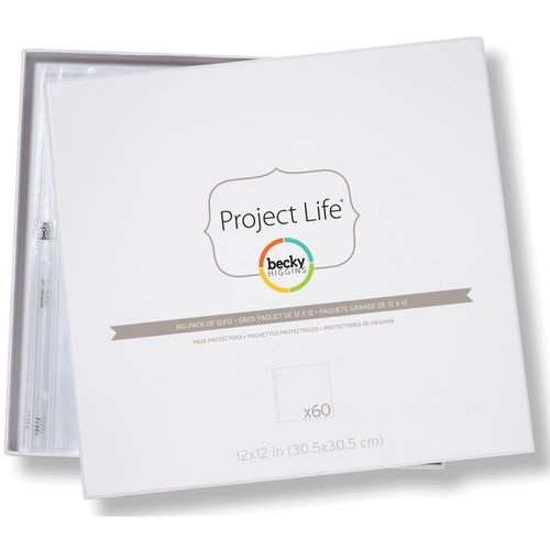 "Project Life Page Protectors 12""X12"""