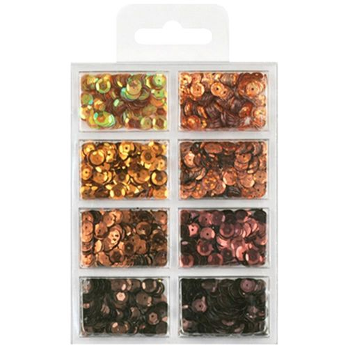 Cup Sequins 7mm - Box Of Chocolate