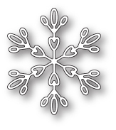 Stanzschablone Evelyn Snowflake