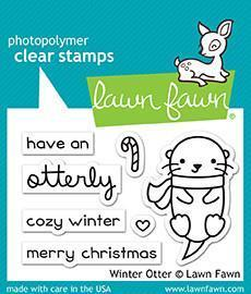 Clear Stamp - Winter Otter