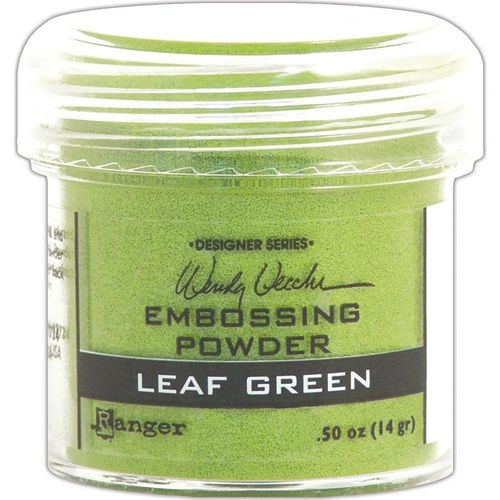 Embossingpulver Leaf Green