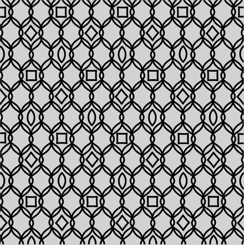 Cling - Filigree Pattern Bold Prints