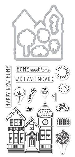 House Stamp & Cut