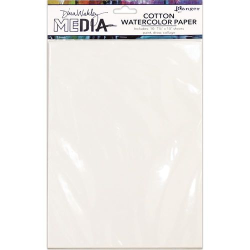 "Dina Wakley Media Cotton Watercolor Paper Pack 7,5""x10"""