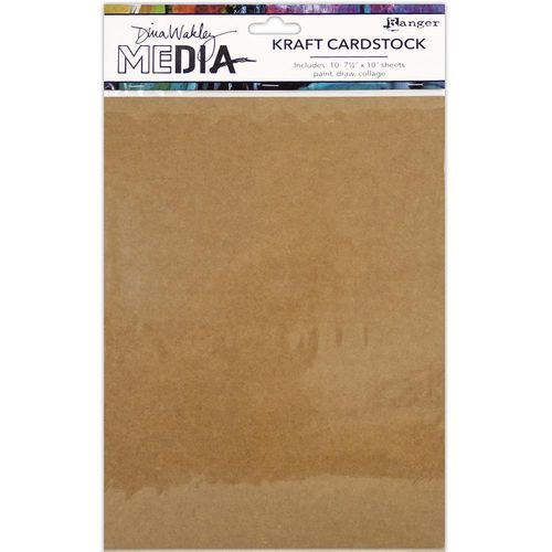 "Dina Wakley Media Kraft Paper Pack 7,5""x10"""