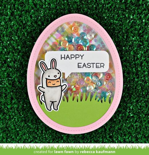 Clear Stamp - Easter Party