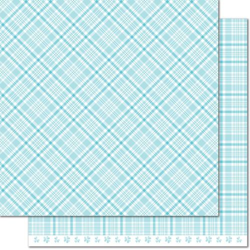 Papier Perfectly Plaid Spring - Bluebell