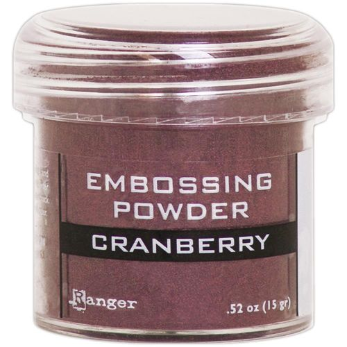 Embossingpulver Cranberry metallic