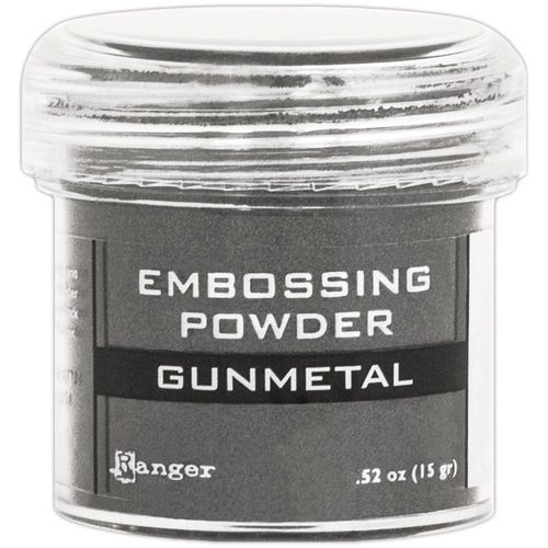 Embossingpulver Gunmetal metallic