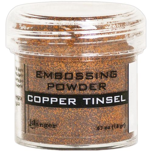 Embossingpulver Copper Tinsel