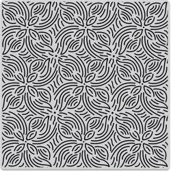 Cling - Repeating Flower Bold Prints