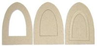 Large Arch Chipboard