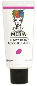 Dina Wakley Media Heavy Body Acrylic Paint - Magenta