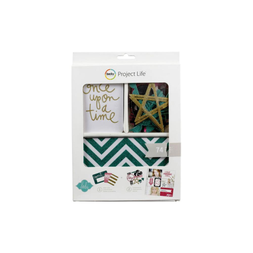 Project Life Mini Kit - Heidi Swapp Glitter