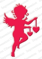 Stanzschablone Cupid with Heart