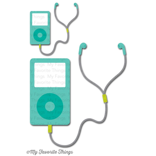Stanzschablone - MP3 Player