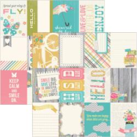 Papier Vintage Bliss - Journaling Cards #1