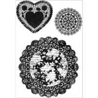 Clear - Secret Admirer Doilies
